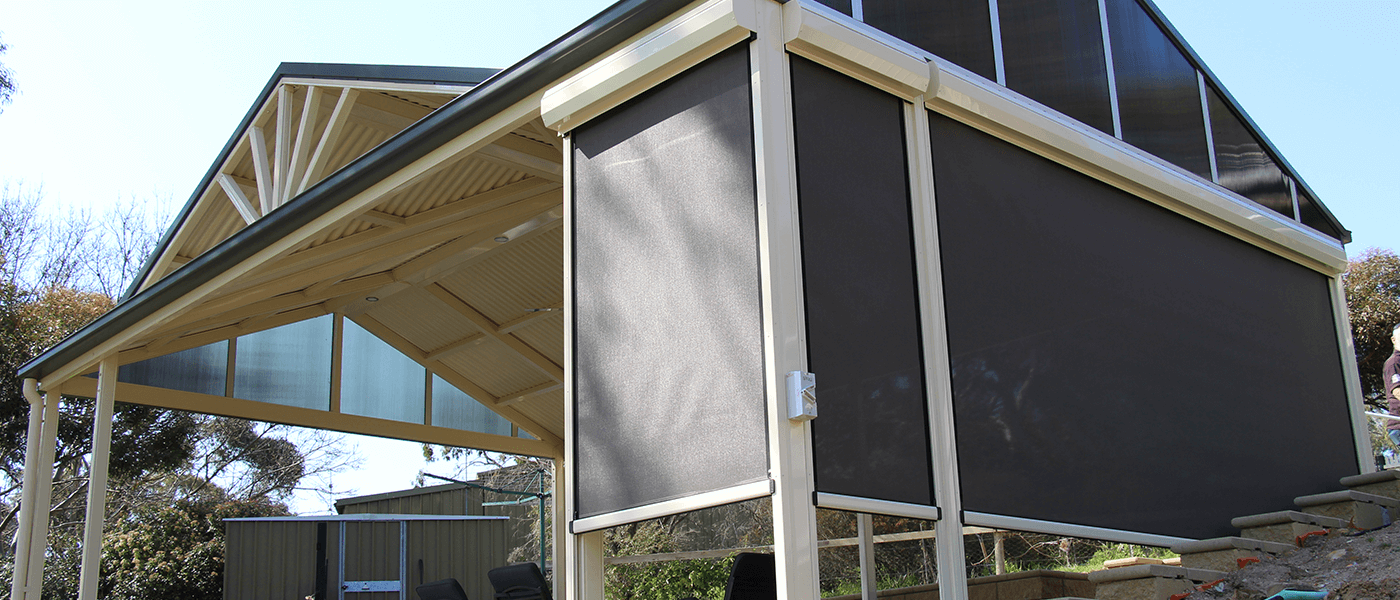 Know the Benefits of Installing Outdoor Blinds Adelaide at Property.